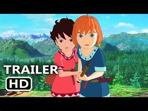 ghibli film trailer mary and the witch s flower teaser trailer official
