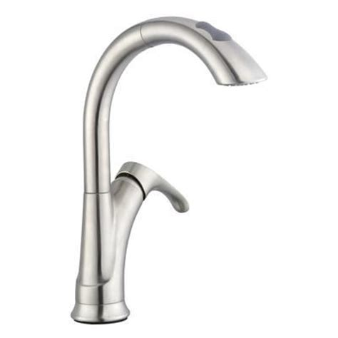 pegasus uspw591anthd old fashion pull down spray kitchen glacier bay ginger pulldown kitchen faucet in brushed
