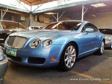 bentley philippines bentley continental spotted in quezon city philippines on