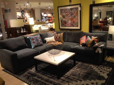 crate and barrel living rooms crate and barrel living room sectional home