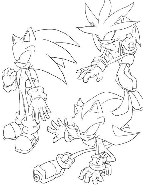 coloring book references sonic shadow and knuckles coloring pages