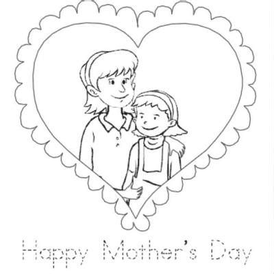 coloring pages mother and baby mother and daughter coloring pages mother daughter