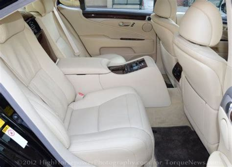 the rear interior of the 2013 lexus ls460l awd | torque news