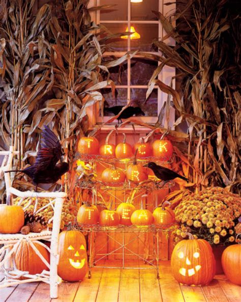10 enchanting halloween decoration ideas 41 ways to decorate for fall halloween and thanksgiving