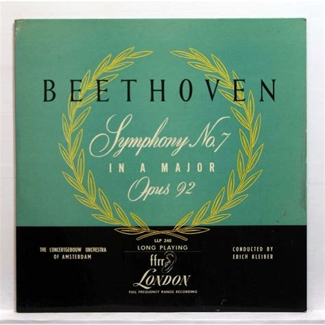 beethoven symphony 7 beethoven symphony no 7 in a major op 92 by erich