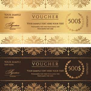 vector discount voucher template free vector download