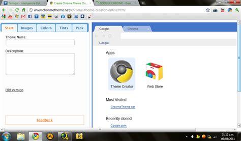 theme editor google chrome crear temas para google chrome taringa