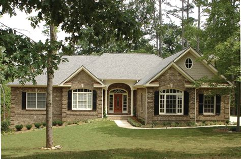 one story brick house plans southern house plan front of home plan 013d 0053 house plans and more