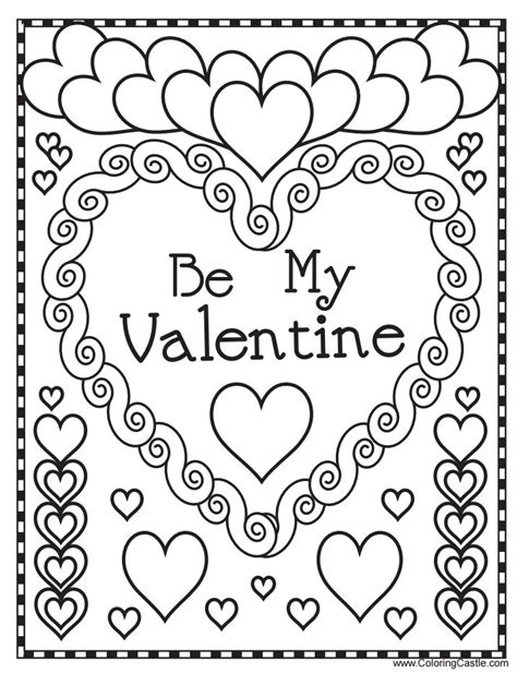 free valentines coloring sheets free printable s day coloring pages for