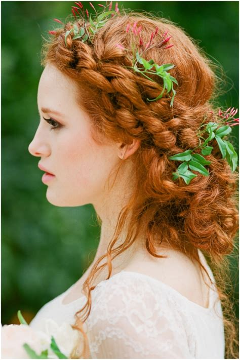 Wedding Hairstyles For Of Color by 2017 Copper Hair Color Ideas Hairstyles 2018 New