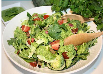 Hsc Detox by Broccoli Cilantro Pesto Salad Reboot With Joe