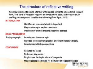 How Do You Write A Reflective Essay by Critical Reflective Writing