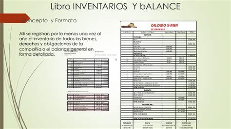 formato 31 libro de inventarios y balances balance libros de contabilidad