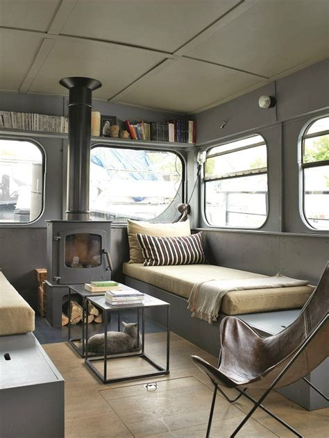 Cool Boat Interiors by Vintage Houseboat Interior Www Pixshark Images