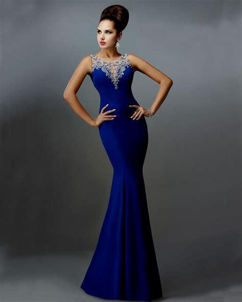 Blue Mermaid Dress royal blue mermaid wedding dresses naf dresses