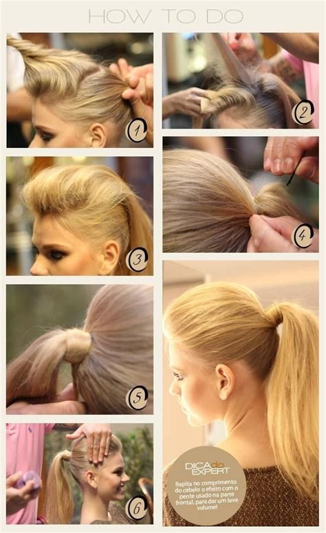 diy ponytail haircut for medium length hair easy high ponytail hairstyle tutorial popular haircuts