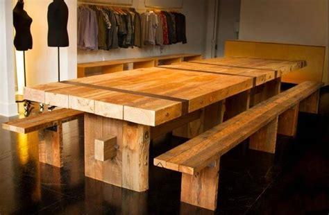 come costruire un tavolo da giardino tavoli rustici faf arredi