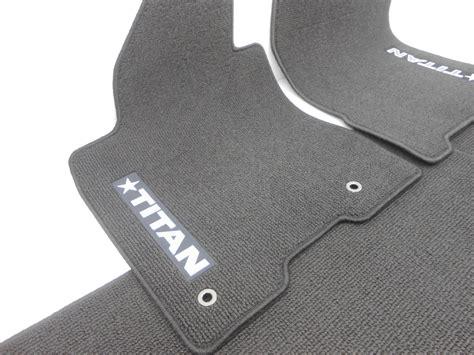 Nissan Titan Floor Mats Oem by New Oem Nissan Titan Crew 4 Floor Mat Set Black