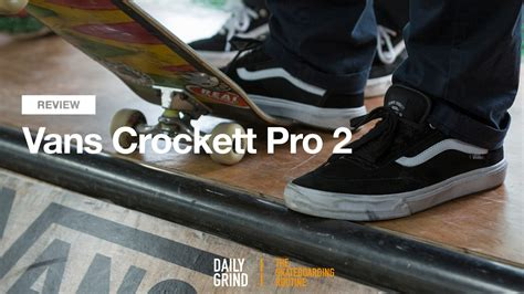 Harga Vans Crockett Pro 2 review vans gilbert crocket pro 2 daily grind skateboard