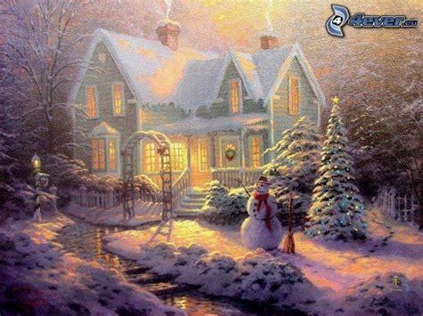 thomas kinkade christmas houses christmas