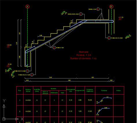 Stairs Floor Plan Symbol autodesk autocad structural detailing 187 aplikom