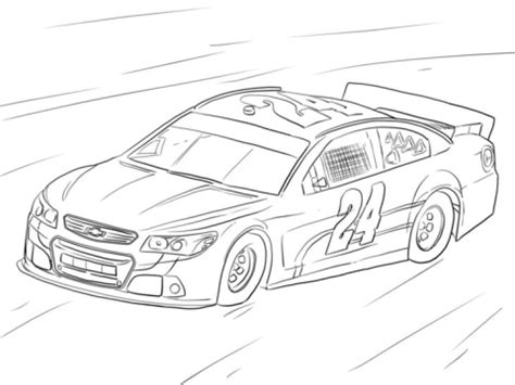 nascar coloring pages free coloring page of nascar car sports coloring pages