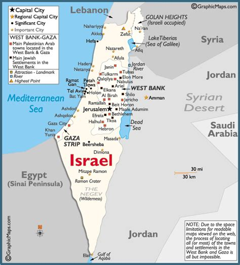 map of israel and palestine israel palestine map