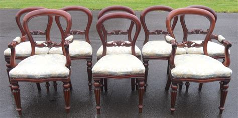 Reproduction Mahogany Dining Chairs Mahogany Dining Room Su With Set Of Six Reproduction Sabre Leg Dining Chairs By The Mand