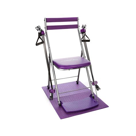 Chair Exercise System by Resistance Chair