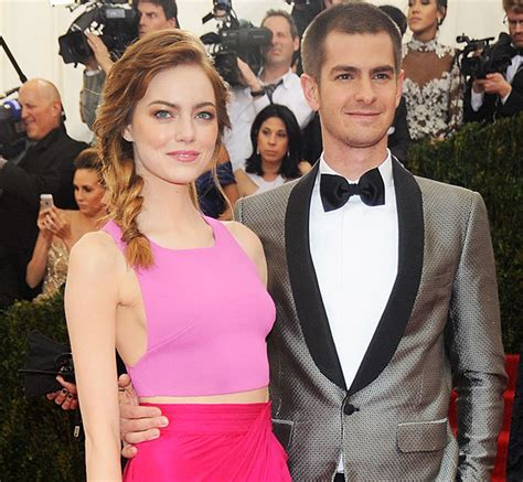 emma stone and andrew garfield back together emma stone hints her relationship with andrew garfield