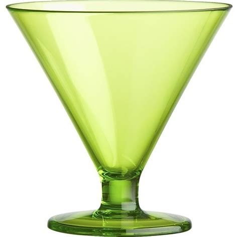 martini glass acrylic painting acrylic green cocktail dessert glass contemporary