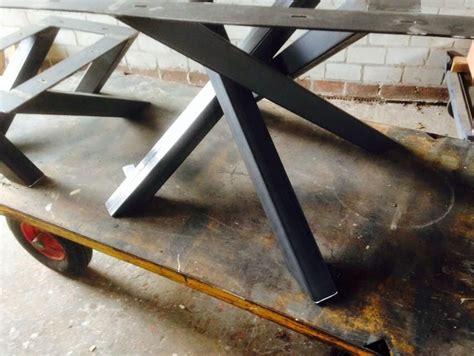 vierkante salontafel met kruispoot metalen design kruispoot voor vierkante tafel project