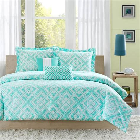 Ideas Aqua Bedding Sets Design Shop Intelligent Design Laurent Teal Bedding The Home Decorating Company