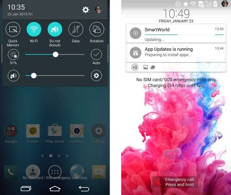 lg themes lock screen lg brings lollipop to g3 here s what it looks like