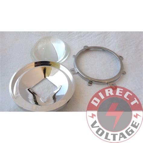 le led len 77mm lens 82mm reflector collimator base fixed bracket