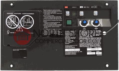 craftsman garage door opener circuit board craftsman 41a4315 7d garage door opener circuit board