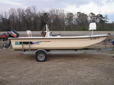 carolina skiff boat trailer 2002 carolina skiff 1980 semi vee center console the