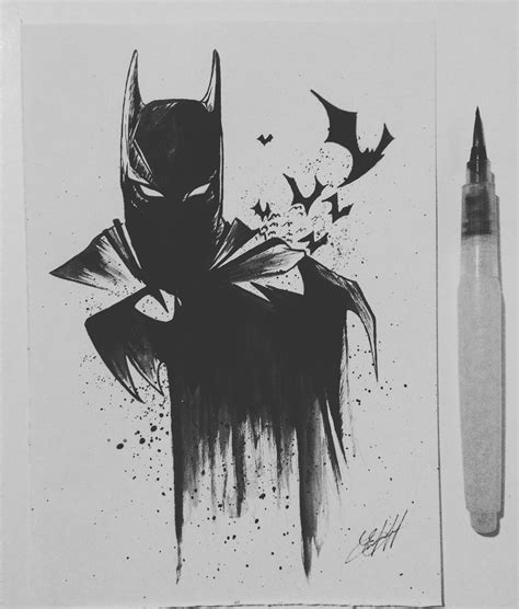 watercolor tattoo dc batman watercolor batman batman