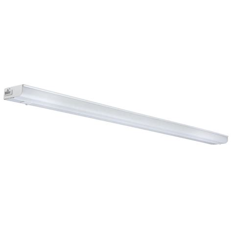 lithonia cabinet lighting lithonia lighting 34 in white t5 fluorescent cabinet light uc5d 21 120 lp m6 the home depot