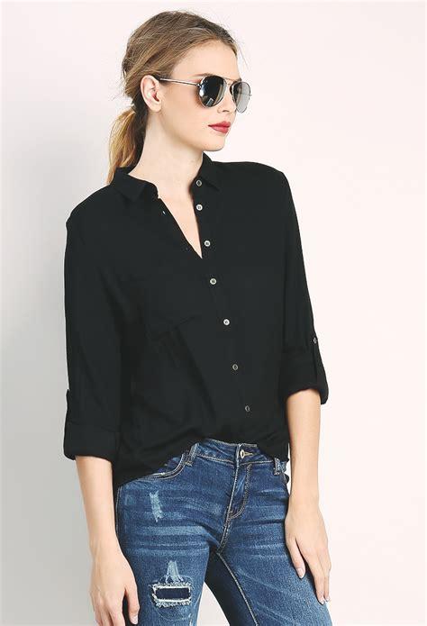 back slit shirt shop blouse shirts at papaya clothing