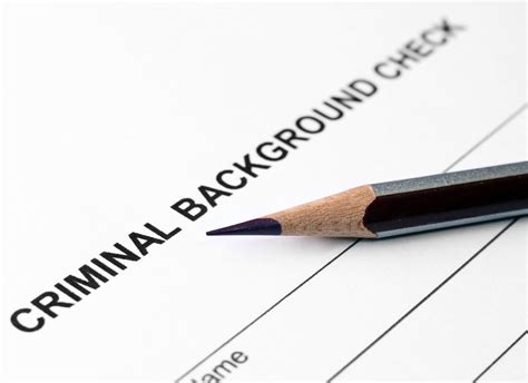 Tenant Criminal Background Check Tenant Applications Time Costs Required