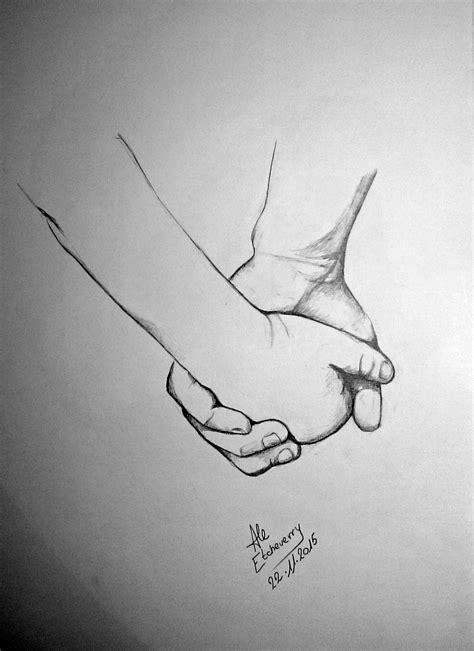 imagenes a lapiz de manos t 237 tulo de la mano dibujo en l 225 piz 47x32cm san