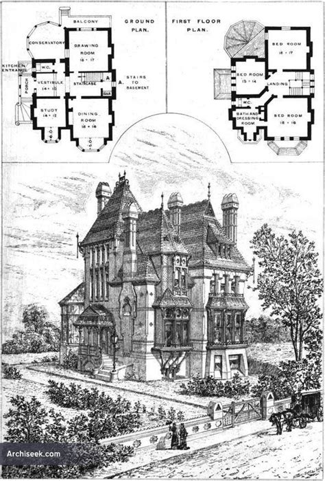 gothic victorian house plans 25 best ideas about victorian house plans on pinterest