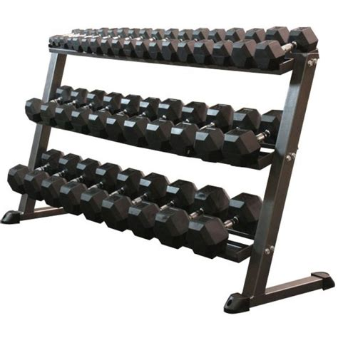 Dumbbell Rack With Weights by 1000 Ideas About Dumbbell Rack On Exercise