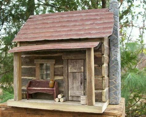 25 best ideas about cabin dollhouse on