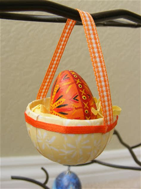 Paper Basket Craft - paper jewels and other crafty gems easy easter paper