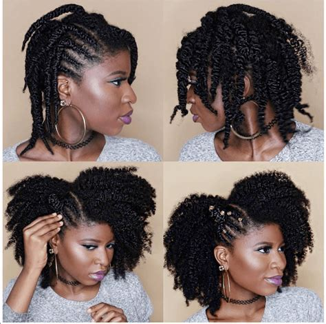 eco gel and teo strand hairstyles amazing twist out results