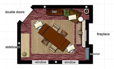 Dining Room Layouts Dining Dining Room Layouts Circle
