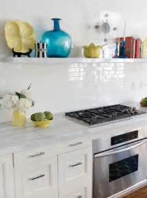 Backsplash Pictures With White Cabinets - 5 easy kitchen decorating ideas freshome com