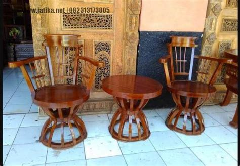 Keranjang Kayu kursi teras keranjang murah jepara jatika furniture
